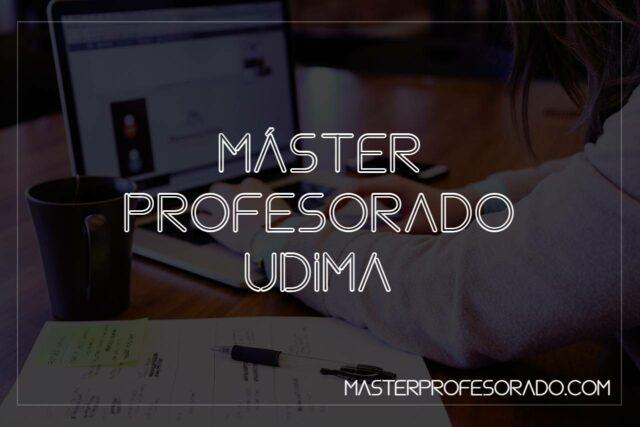 Master Profesorado UDIMA